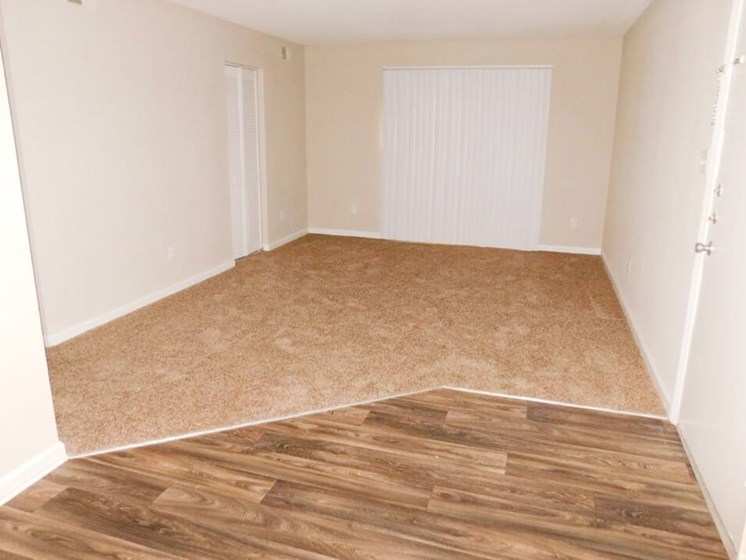 apartment with Carpeting and Wood Flooring