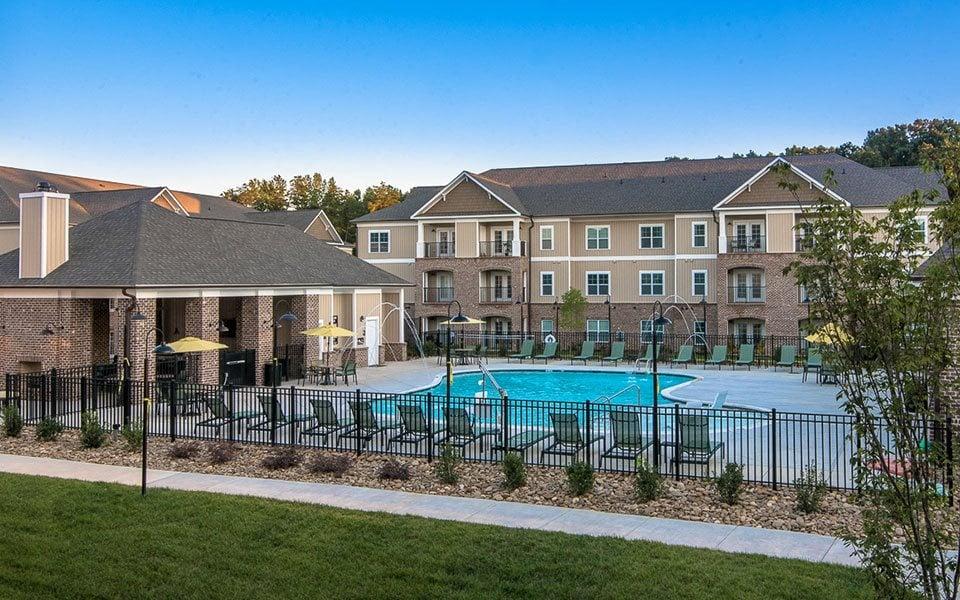 Pool at Millis and Main at Grandover, Jamestown, NC